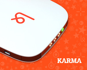 Travel with your own HOtspot, Karma