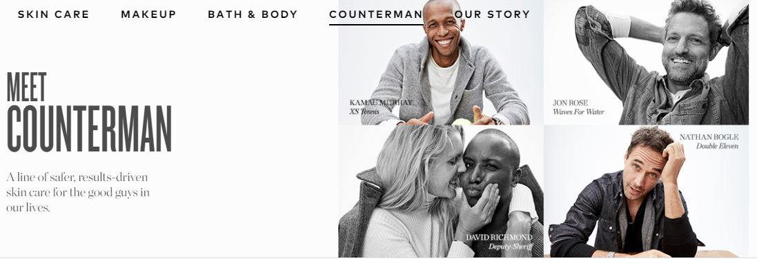 Meet Counterman A line of safer, results-driven skin care
